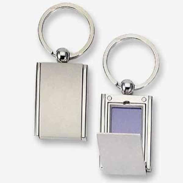 מחזיקי מפתחות מתכת עם תמונה