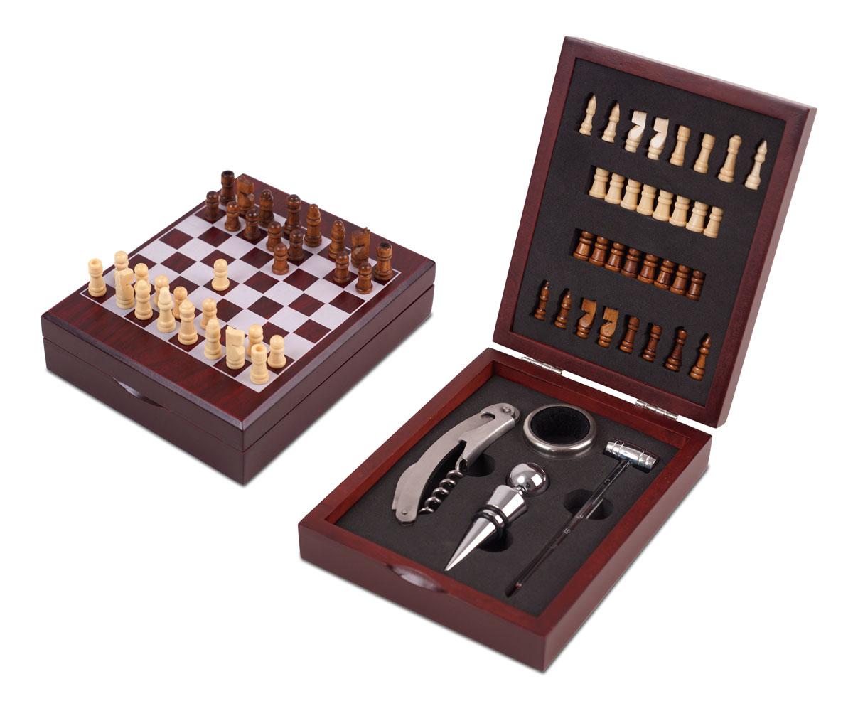 סט אביזרים ליין עם משחק שח מט